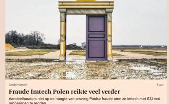 Imtech verhulde status Poolse dochter
